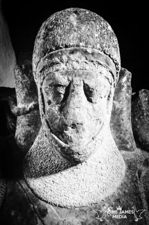 Effigy of Sir William Disney The Younger