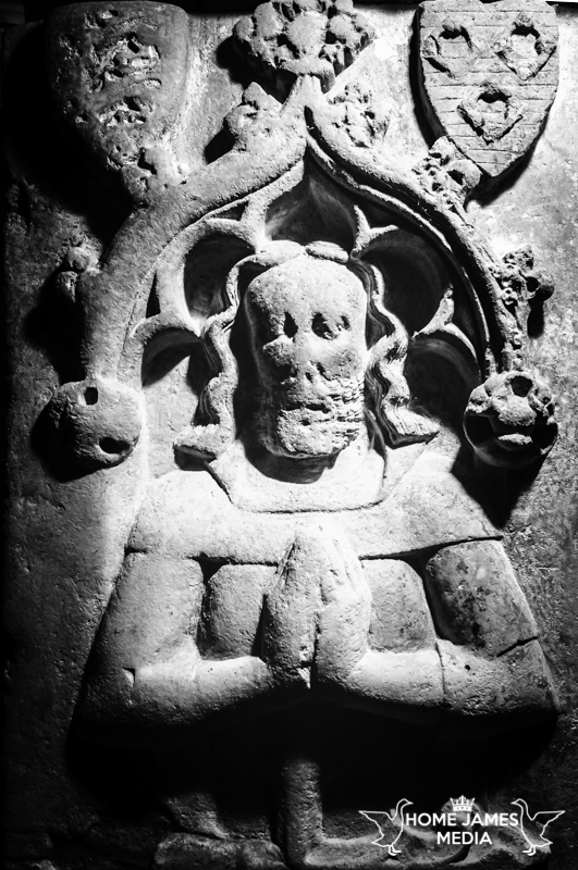 The Kingerby Knight Deep Relief Stone Carving Disney