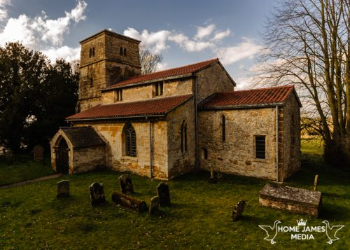 St Peter's Church – Kingerby | Lincolnshire Landscape Photography by Robin Ling