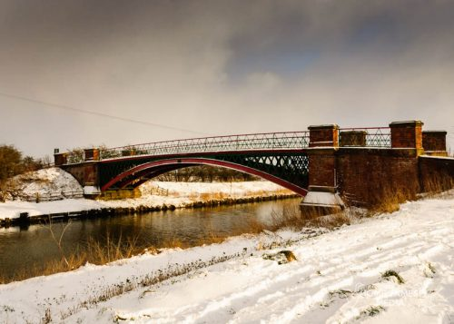 Hibaldstow Bridge in the Snow| Lincolnshire Landscape Photography by Robin Ling