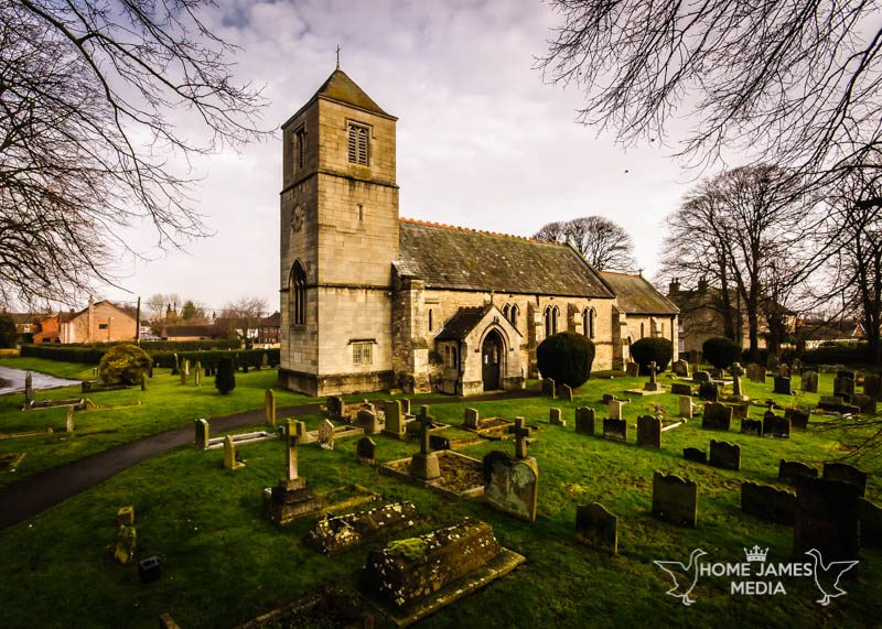 St Hybald's Church, Hibaldstow | Lincolnshire Landscape Photography by Robin Ling