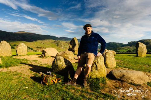 Robin Ling at Castlerigg Stone Circle