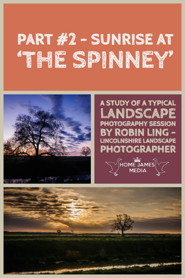 Lincolnshire Landscape Photography - Sunrise at the Spinney