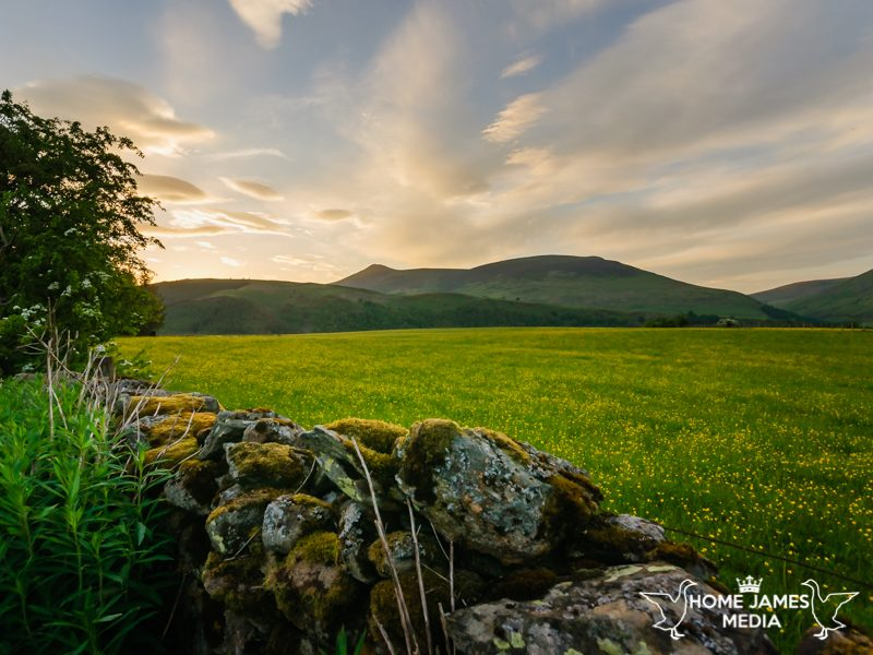 Skiddaw at Sunset