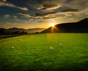 Sunset Over Latrigg