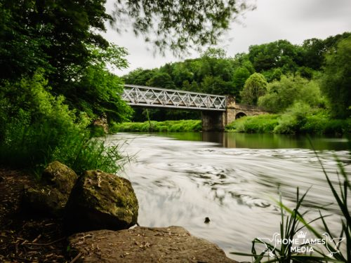 Sprotbrough Road Bridge – River Don. Long Exposure