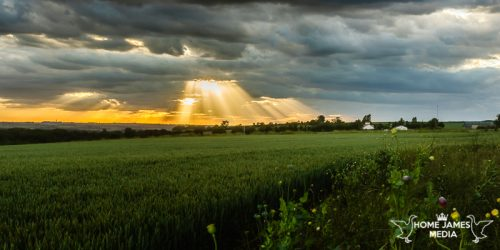 Sunburst at Worlaby | Lincolnshire Landscape Photography by Robin Ling