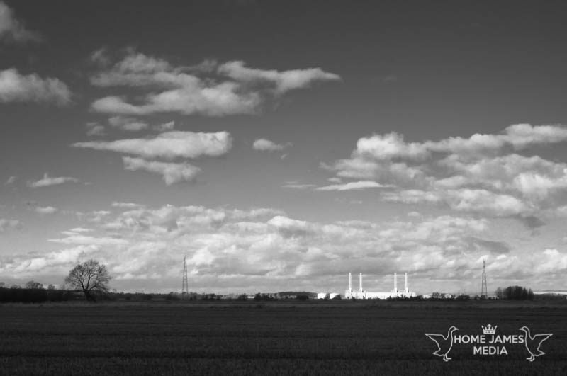 Brigg Gas Fired Power Station | Lincolnshire Landscape Photography by Robin Ling