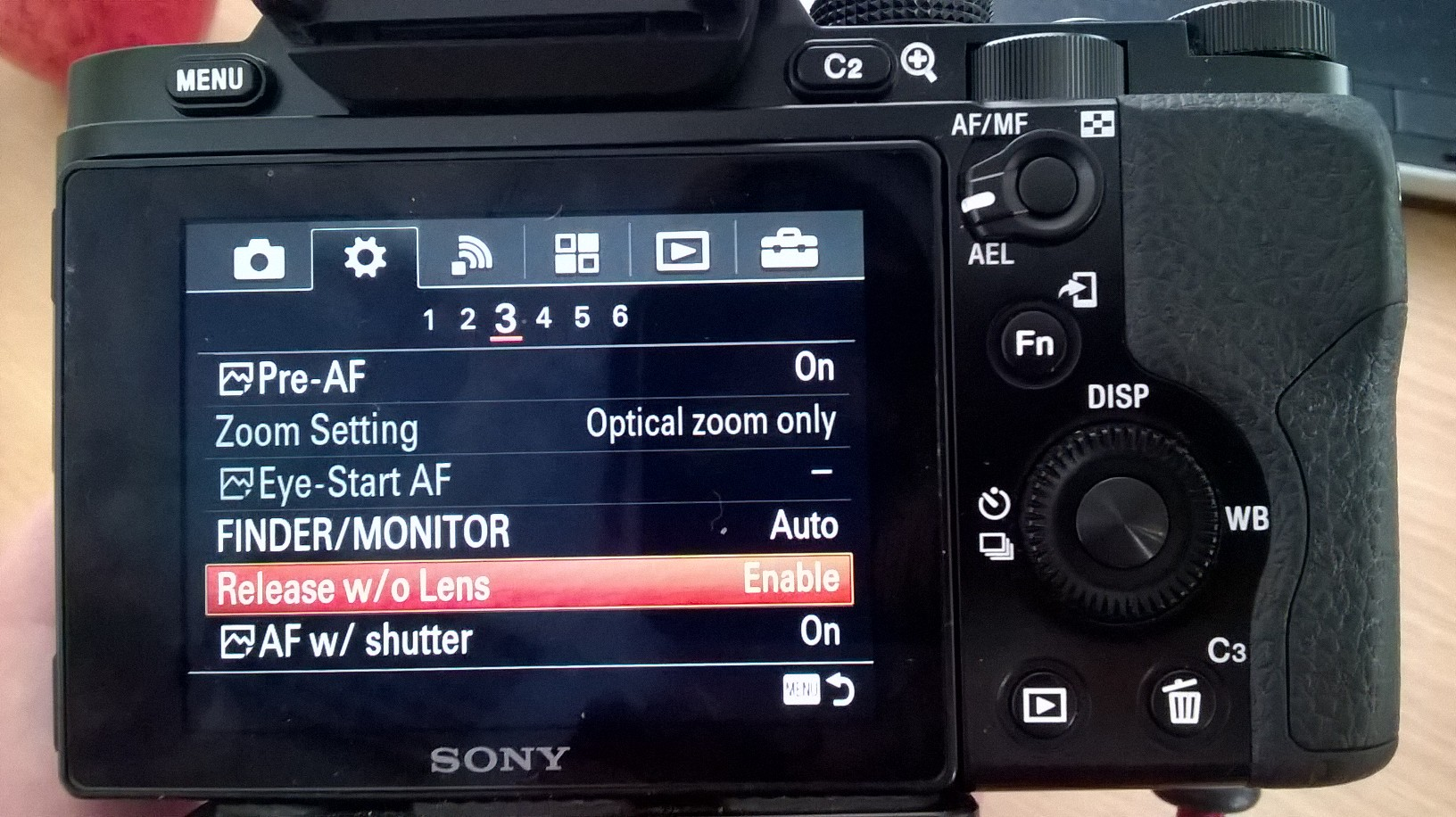 Using Manual Focus Lenses on a Sony A7
