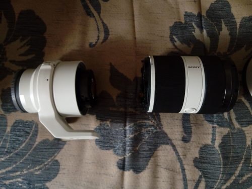 broken Sony 70-200mm lens